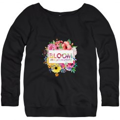 Bloom 2019 SWAG - fleece pullover