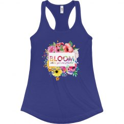 2019 BLOOM SWAG - tank