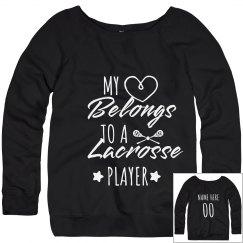 Heart Belongs To A Lacrosse Player