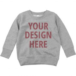 Custom Toddler Winter Ugly Sweater
