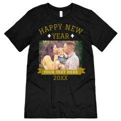 Custom New Years Family Upload Shirt