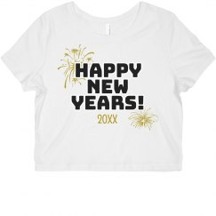 Happy New Years Custom Date Top