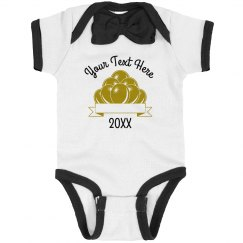 Custom New Years Balloons Bodysuit
