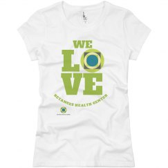 We love Betances Female cut STAFF tee