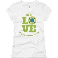 We love Betances Female cut  tee
