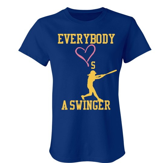 Swinger t shirt think