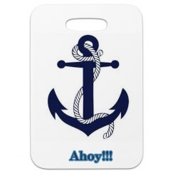 Ahoy luggage tag