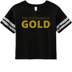 BFF Dripped In Gold Tank
