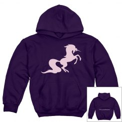Unicorn youth hoodie