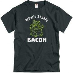 Shaking bacon