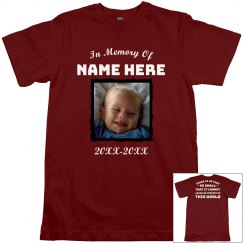 In Memory Quote Custom Shirt