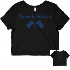 Twirler Captain Crop Top