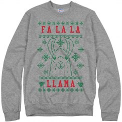 Fa La La Llama Red And Green