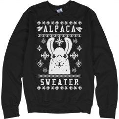 Alpaca Ugly Christmas Sweater