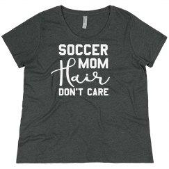Soccer Mom Hair Plus Sized Shirt