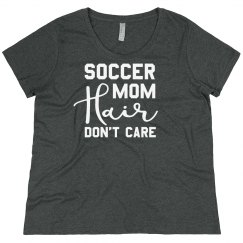 Soccer Mom Hair Plus Sized Shirt