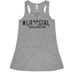Custom Lax Girl Crop Top
