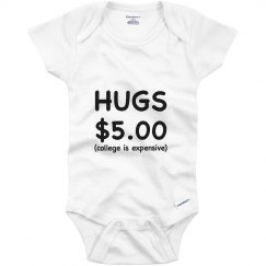Hugs 5 Dollars