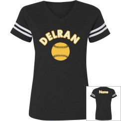 Relaxed Fit Softball Jersey