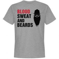 Blood sweat and beards