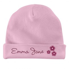 Custom Name Baby Beanie