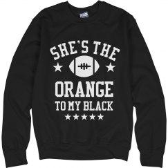 The Orange To My Black