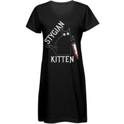 Stygian Kitten Dress