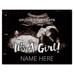 Custom Photo Pregnancy Announcement