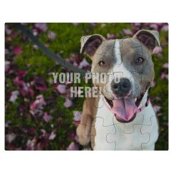Custom Photo Upload Jigsaw Puzzle