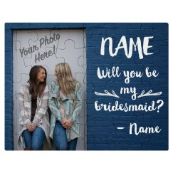 Unique Custom Bridesmaid Gift