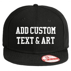 Design your Custom Flatbill Snapback Hat
