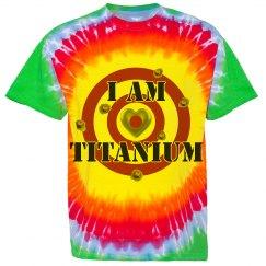 Titanium tie dye