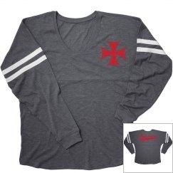 Round Rock christian crusaders long sleeve shirt.