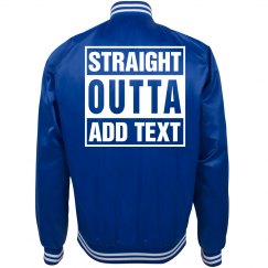 Straight outta bomber jacket
