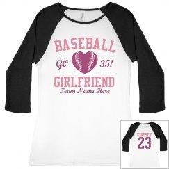 Cute Baseball Girlfriend