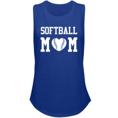 Trendy I'm a Proud Softball Mom