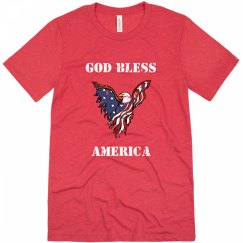 God Bless America - Mens
