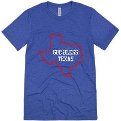 God Bless Texas - Mens