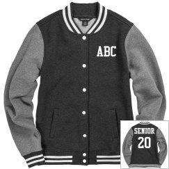 Custom Initials Seniors Jacket