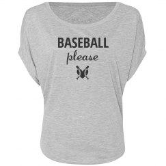 Baseball please shirt