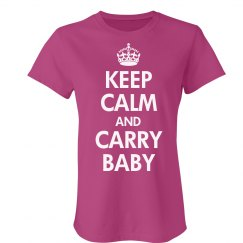 Keep Calm & Carry Baby