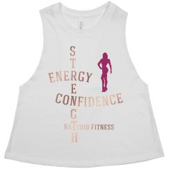 Strength. Energy. Confidence. Muscle Tank