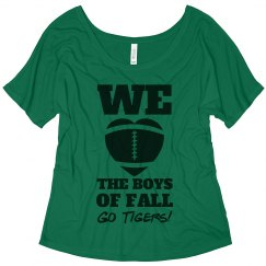 The Football Boys Of Fall