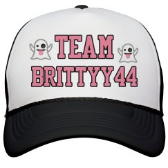 Team Brittyy44 Ghost Hat