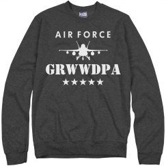 Air Force Grwwdpa Military Pride
