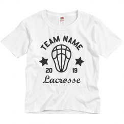 Create Custom Lacrosse Team Youth Tees