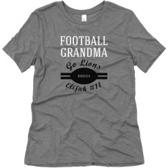 Football Grandma Fan