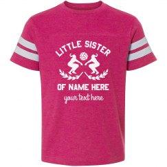 Little Sister Custom Volleyball