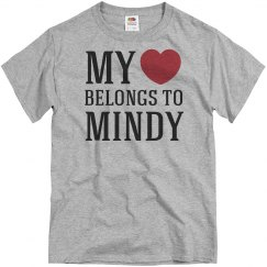 Heart belongs to Mindy