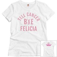 Bye Bye cancer t